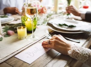 Top 10 Wedding Trends for 2018 plate