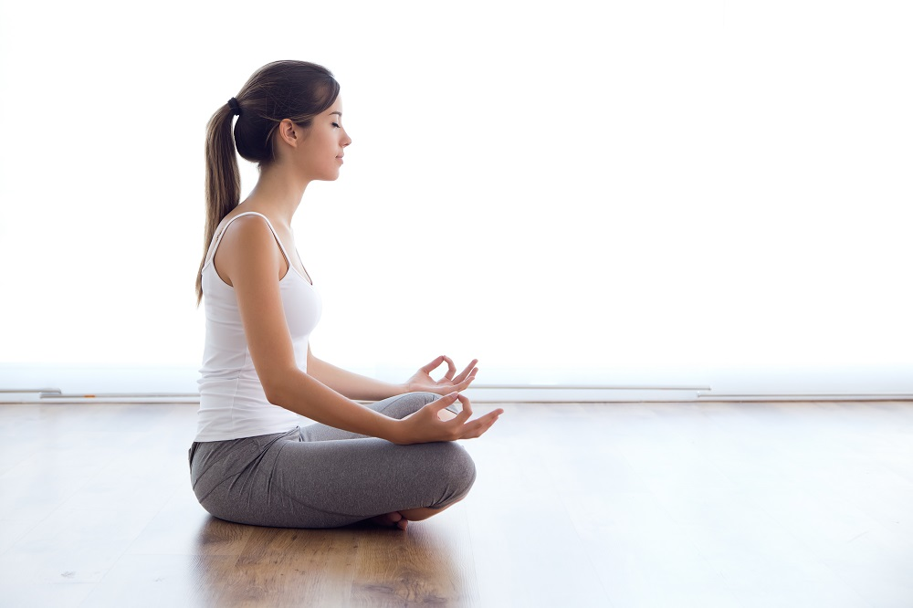 Meditation Is A One-Way Ticket to Physical and Mental Health woman