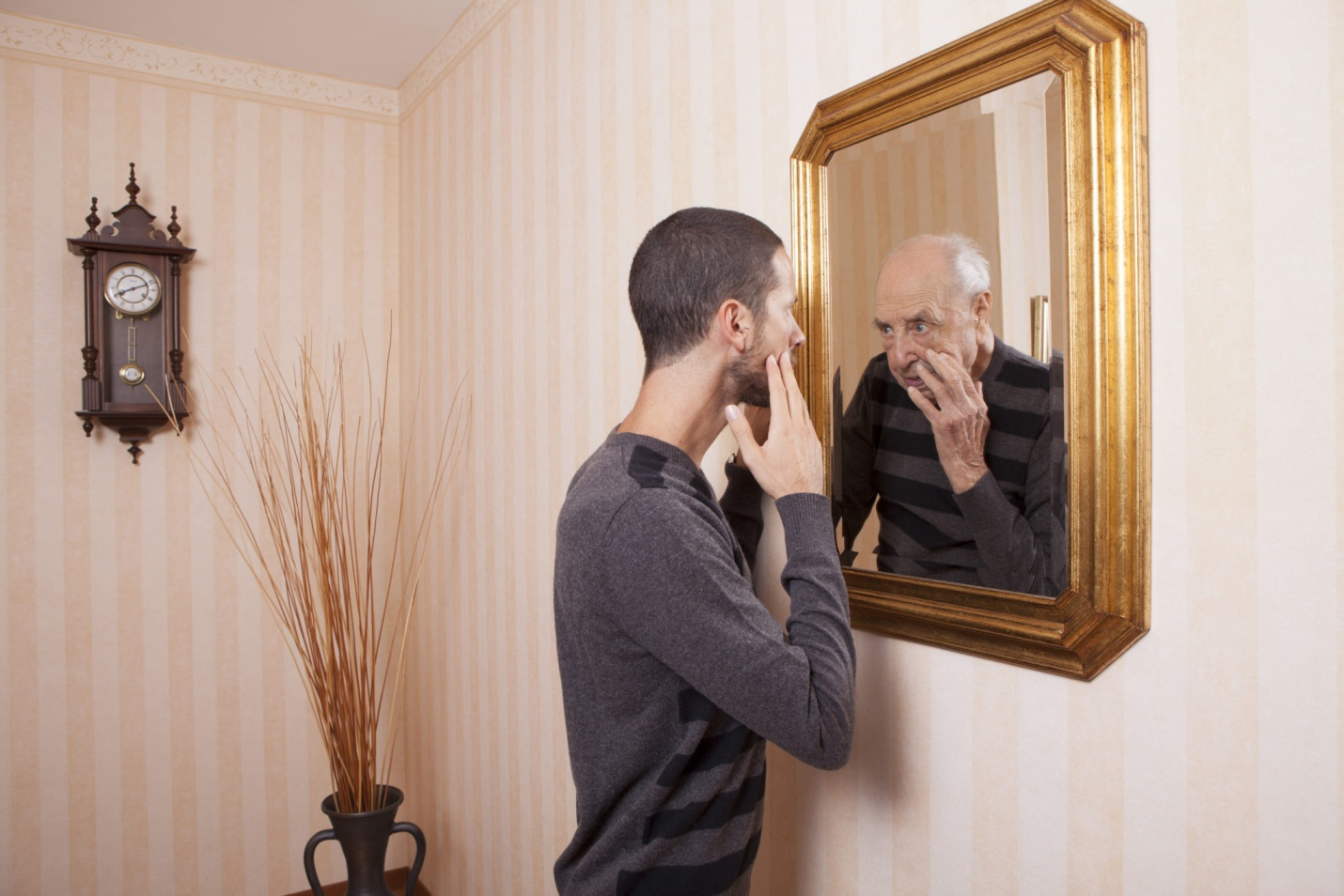 How do I stop comparing myself to others? mirror