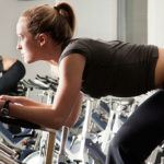 Cycling Workout to Help You Hate Running Less woman