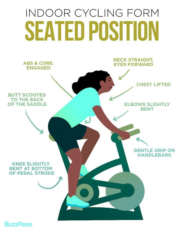 Cycling Workout to Help You Hate Running Less position