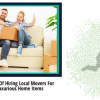 10 Advantages Of Hiring Local Movers For Moving Luxurious Home Items