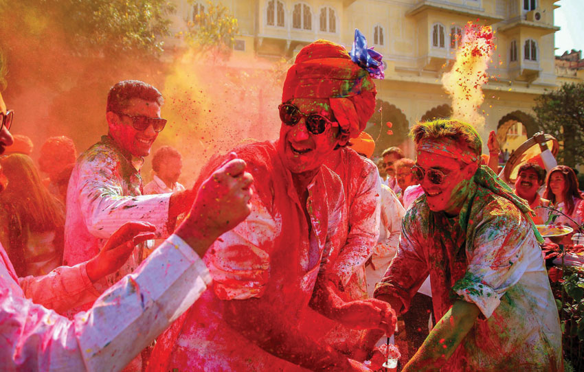 Holi in Jaipur – Enjoy The Colorful Festival in Royal Style