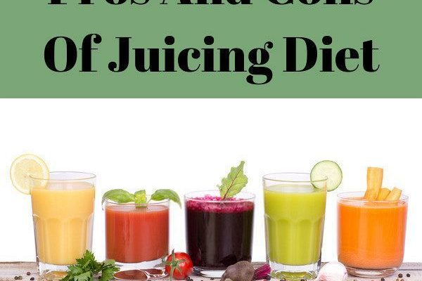 What Are The Pros And Cons Of Juicing?
