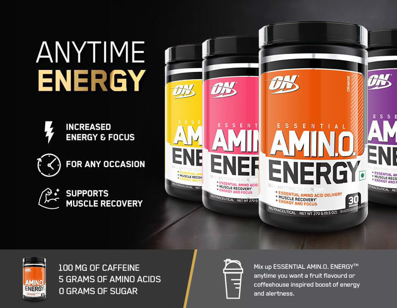 7 Amazing Benefits of Amino Energy Supplements You Probably Didn't Know About