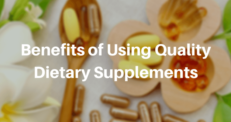 Benefits of Nutritional Supplements to our body