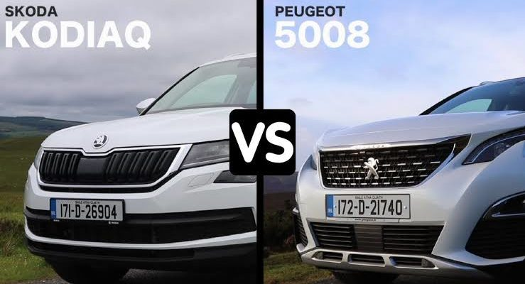 What is the difference between Peugeot 5008 and Skoda Kodiaq?